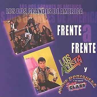 Los Acosta/Dominguez - Los Dos Grandes De America Frente a Frente [CD] USA import