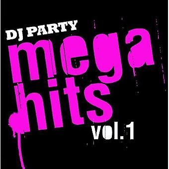 DJ Party - DJ Party: Vol. 1-Mega Hits [CD] USA import