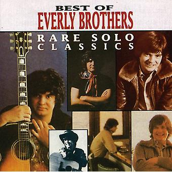 Everly Brothers - Best of-Rare Solo Classics [CD] USA import