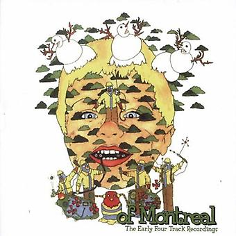 Of Montreal - Early Four Track Recordings [CD] USA import