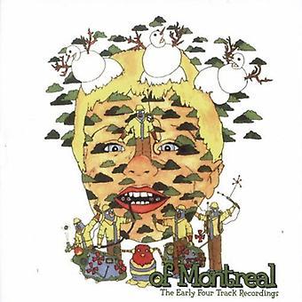 De Montreal - primeras cuatro grabaciones de pista [CD] USA importar