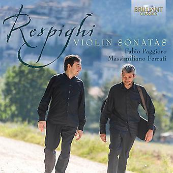 O. Respighi - Respighi: Violin Sonatas [CD] USA import