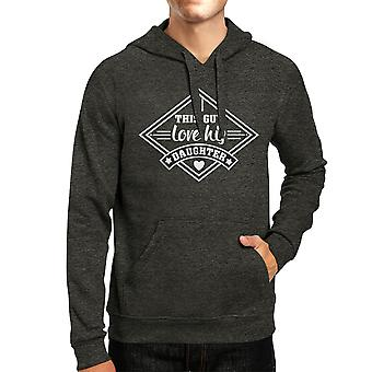 This Guy Love His Daughter Unisex Hoodie Fathers Day Gift From Wife