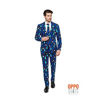 Opposuit winter woods Christmas suit slimline Premium 3-piece set