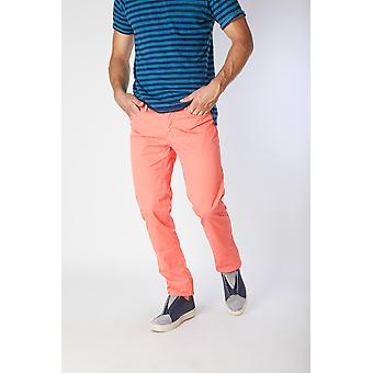 Jaggy Trousers Orange Men