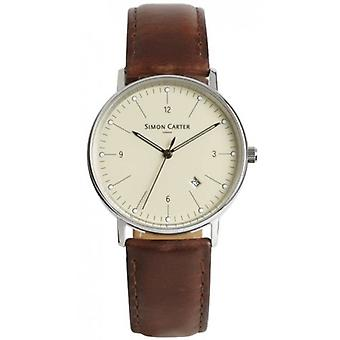 Simon Carter Watch - Creme