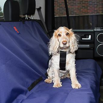 Ginger Ted Universal Waterproof Protective Rear Car Seat Cover Navy