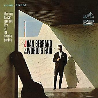 Juan Serrano - At the World's Fair [CD] USA import