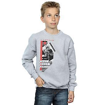 Star Wars garçons les derniers Jedi capitaine Osterman Sweatshirt