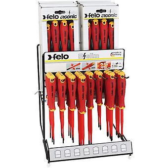 Felo Screwdrivers Exhibitor Ergonic Vde E-Slim 22 Pieces
