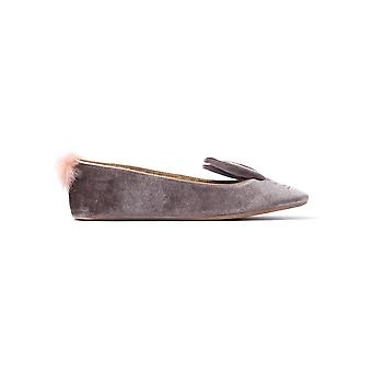 Women's Bellamo Slippers - Grey Velvet