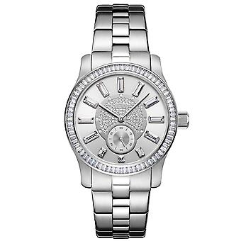 JBW ladies diamond watch with Swarovski crystals silver