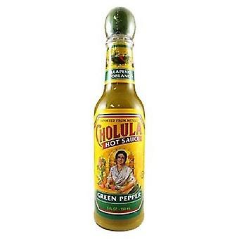 Cholula Green Pepper Hot Sauce 2 Bottle Pack