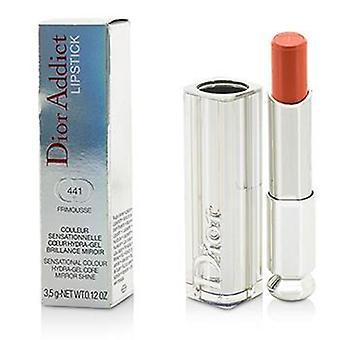 Christian Dior Dior Addict Hydra Gel base miroir Shine Lipstick - #441 Frimousse - 3.5g/0.12oz