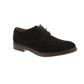Clarks Clarkdale Moon - Black Suede Mens Shoes