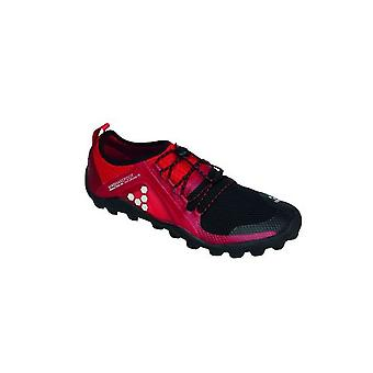 Vivobarefoot Primus Trail Soft Ground Mens Shoes Black/Red