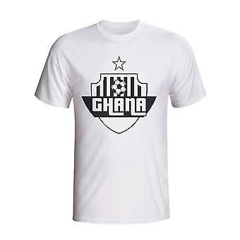 Ghana país Logo camiseta (blanco) - niños