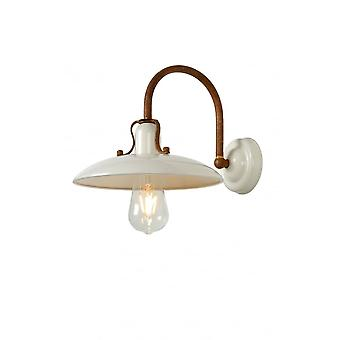 Lucide R–MER Wall Light E27 24cm Cream