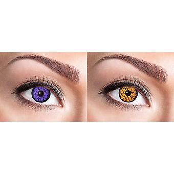 Monster Gothic Halloween contact lenses
