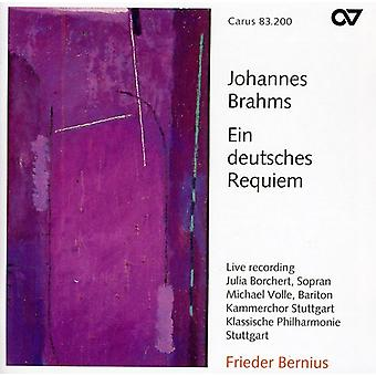 J. Brahms - Brahms: Importación Ein Deutsches Requiem [CD] Estados Unidos