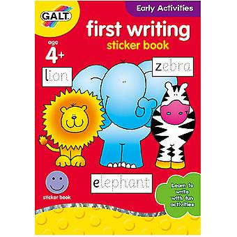 Galt früher Aktivitäten erste schreiben Sticker Book