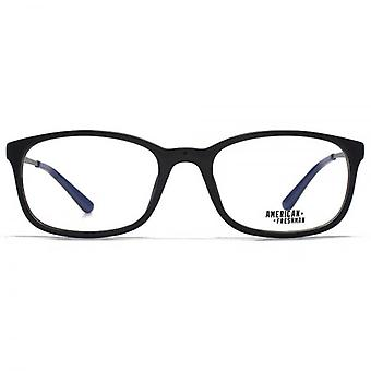 American Freshman Cory Classic Rectangle Glasses In Black