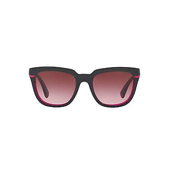 Ralph By Ralph Lauren Two Tone Square Sunglasses In Grey Pink