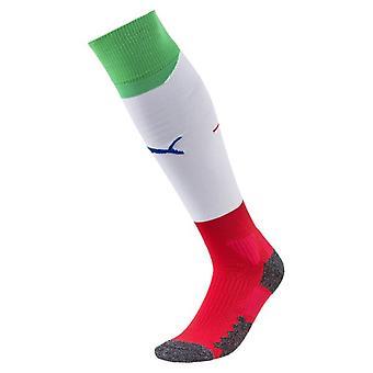 2018-2019 Italy Away Puma Football Socks (White) - Kids