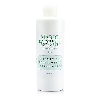 Mario Badescu Vitamin E Body Lotion (Wheat Germ) - For All Skin Types 472ml/16oz