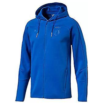 2018-2019 Italy Puma Azzurri Zip Thru Hoody (Blue)