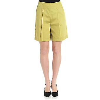 Caractere ladies P192A003K815 green cotton of shorts