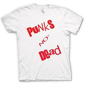 Womens T-shirt - Punks Not Dead - Punk