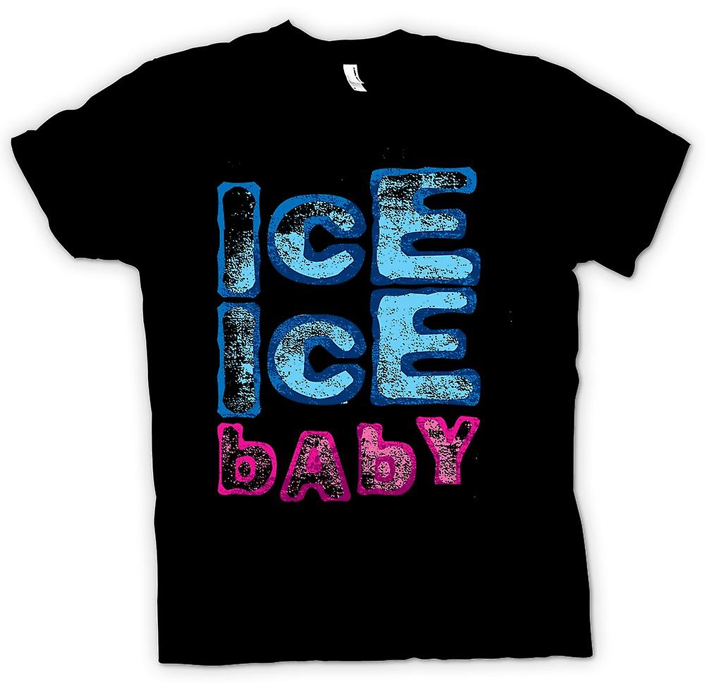 Womens T-shirt-vanille ijs - Ice Ice Baby - Funny