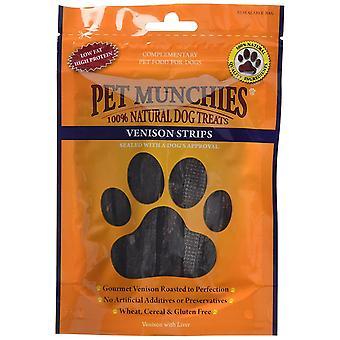 Pet Munchies Dog treat Venison Strips, 75 g