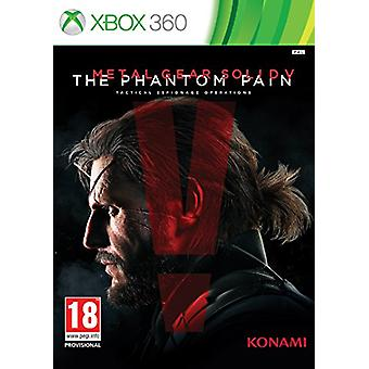 Metal Gear Solid V The Phantom Pain - Standard Edition (Xbox 360) - Factory Sealed