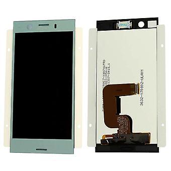 Sony Display LCD Komplett Einheit für Xperia XZ1 Dual G8342 Blau Ersatzteil Neu