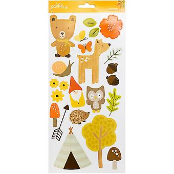 Woodland Forest Cardstock Stickers 6