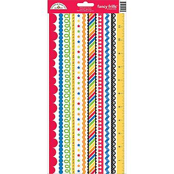 School Cardstock Stickers 6