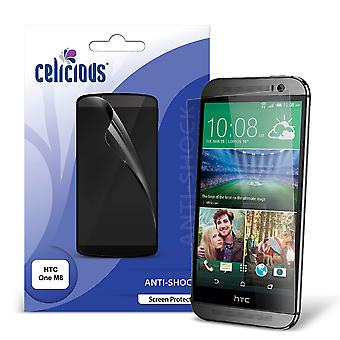 Celicious Impact Anti-Shock Shatterproof Screen Protector Film Compatible with HTC One (M8)