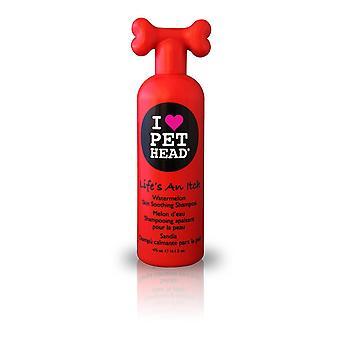 Haustier Kopf das Leben ist ein Jucken 475ml Hundeshampoo