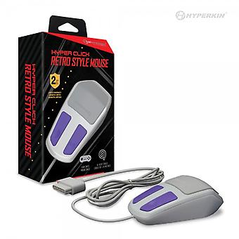 Hyper Click Retro Style Mouse for SNES - Hyperkin