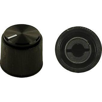 Cliff CL16924 Control knob Black (Ø x H) 19.1 mm x 16 mm 1 pc(s)
