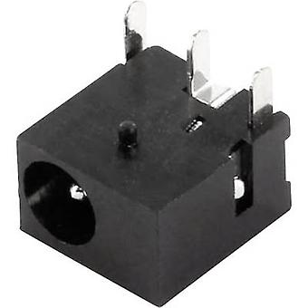 econ connect DC8J10 Low power connector Socket, horizontal mount 1 mm 1 pc(s)