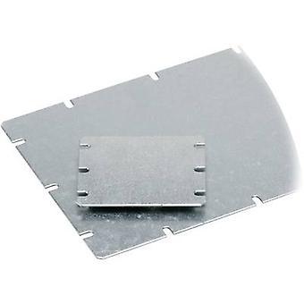 Mounting plate (L x W) 98 mm x 98 mm Steel plate Light grey Fibox MNX MIV 125 1 pc(s)