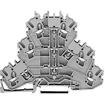 WAGO 2002-3217 Tripleport continuity 5.20 mm Pull spring Configuration: Terre, N, L Grey 1 pc(s)