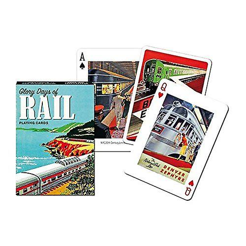 Glory Days Of Rail Set Of Playing Cards + Jokers