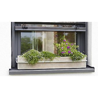 Flower box holder window flower box holder adjustable die-cast aluminium