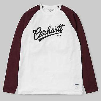 Carhartt WIP S/S Craft T-Shirt White/Chianti/Black
