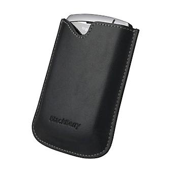 OEM Blackberry 8310 8320 8330 Curve Leather Pocket without belt clip, Black