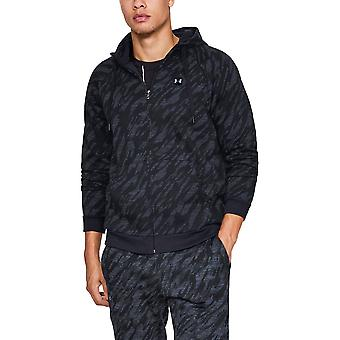 Under Armour Mens Rival Fleece Camo Full Zip Training Hoodie Sweater